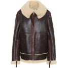 svijetlana2 Jacket - coats -  Shearling and leather jacket