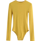 FECLOTHING Pajamas -  Small round neck long sleeve pitted body