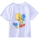 FECLOTHING Shirts -  Small yellow duck print short sleeve top