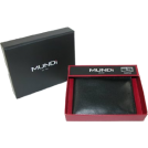 Mundi Wallets -  Soft Slim Fold Wallet Black