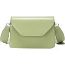 FECLOTHING Messenger bags -  Solid color casual small square bag simp