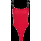 FECLOTHING Fatos -  Solid color collar bodysuit