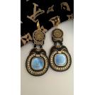 Sabaheta Earrings -  Soutache earrings made of authentic butt