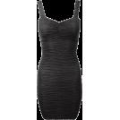 Sugerdiva Dresses -  Strappy Textured Bodycon Short