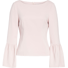 beautifulplace Long sleeves shirts -  Stretch Suiting Bell Sleeve Top TIBI