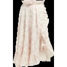 beautifulplace Skirts -  THIERRY COLSON  Tasha floral-print cotto