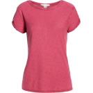 sandra  T-shirt -  Textured Roll Sleeve Tee CASLON®