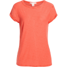 sandra  T-shirts -  Textured Roll Sleeve Tee CASLON®
