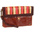 The SAK Clutch bags -  The Sak Fontana 3-In-1 Clutch Warm Stripe