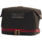 "Tommy Hilfiger Accessories -  Tommy Hilfiger 9.5"" Large Dopp Kit Black"