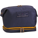"Tommy Hilfiger Accessories -  Tommy Hilfiger 9.5"" Large Dopp Kit Navy"