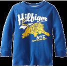 Tommy Hilfiger Long sleeves shirts -  Tommy Hilfiger Boys 2-7 Long Sleeve Tovio Crew Shirt Limoges Blue