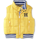 Tommy Hilfiger Vests -  Tommy Hilfiger Boys 2-7 Wiley Vest Goal Post Yellow