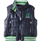 Tommy Hilfiger Maglie -  Tommy Hilfiger Boys 2-7 Wiley Vest Swim Navy