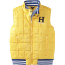 Tommy Hilfiger Maglie -  Tommy Hilfiger Boys 8-20 Wiley Vest Goal Post Yellow
