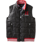 Tommy Hilfiger Maglie -  Tommy Hilfiger Boys 8-20 Wiley Vest Tommy Black