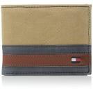 Tommy Hilfiger Wallets -  Tommy Hilfiger Men's Exeter Passcase Billfold Wallet with Removable Card Holder