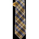 Tommy Hilfiger Tie -  Tommy Hilfiger Men's Satin Bar Stripe Necktie Yellow