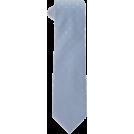 Tommy Hilfiger Tie -  Tommy Hilfiger Men's Seersucker Stripe Necktie Light Blue