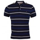 Tommy Hilfiger Magliette -  Tommy Hilfiger Mens Regular Fit Striped Cotton Polo Shirt