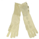 Tommy Hilfiger Manopole -  Tommy Hilfiger Sequin Gloves Off-White