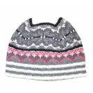Tommy Hilfiger Hat -  Tommy Hilfiger Women Winter Beanie Hat White/black/grey/pink