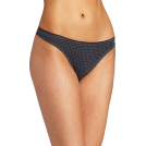 Tommy Hilfiger Thongs -  Tommy Hilfiger Women's Ruched Thong Navy Dot