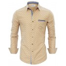 Tom's ware Long sleeves shirts -  Tom's Ware Mens Stylish Abstract Print Button Down Shirt