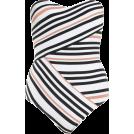 lence59 Kupaći kostimi -  VISTA BANDEAU ONE PIECE