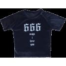 FECLOTHING Shirts -  Velvet crew neck t-shirt