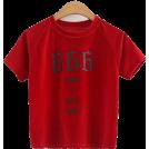 FECLOTHING T-shirts -  Velvet crew neck t-shirt