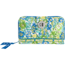 Vera Bradley 財布 -  Vera Bradley Turn Lock Wallet English Meadow