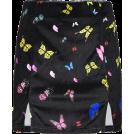 FECLOTHING Skirts -  Vintage Butterfly Print Skirt Velvet Hig