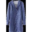 FECLOTHING Dresses -  Vintage Deep V-neck Cute Lace Collar Lon
