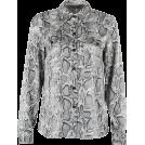 FECLOTHING Long sleeves shirts -  Vintage loose snake print shirt