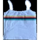 FECLOTHING Vests -  Vintage rainbow camisole