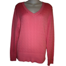 Tommy Hilfiger Pullovers -  WOMEN'S TOMMY HILFIGER SHIRT SIZE XL (PINK)