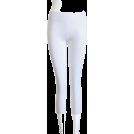 FineBrandShop Ghette -  White Leggings Three Quarter Length
