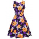 Ruiyige Dresses -  Women's 50s 60s Vintage Cocktail Rockabilly Party Swing Dress
