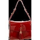 Z Spoke by Zac Posen Bag -  Z Spoke Zac Posen Women's Tassel Shoulder Bag Black Croco