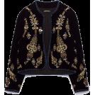 sandra  Jaquetas e casacos -  Zara jacket in black and gold