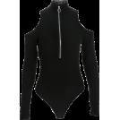 FECLOTHING Fatos -  Zipper high collar bodysuit