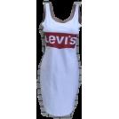 pavlova Obleke -  Платье-майка,белый сарафан с логотипом