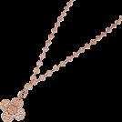 ABISTE(アビステ) Jewelry -  レースチェーンネックレス/ピンクゴールド