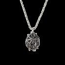 Dubrovacki botuni Necklaces -  ドブロブニクのボタン(ダークシルバー)ゴスパリ エッグ /g