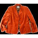 octobermaze  Jacket - coats -  burnt orange jacket
