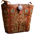 PaoM Hand bag -  cowboy boot purse handbag
