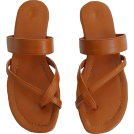 octobermaze  Sandale -  cross strap slides