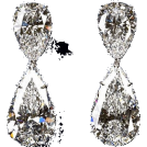 REBECCA REBECCADAVISBLOGGER Earrings -  crystal diamond