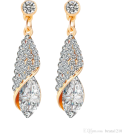 REBECCA REBECCADAVISBLOGGER Earrings -  diamond earrings